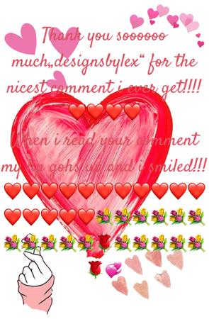 Thank you sooooooo much designsbylex!!!!!💞❤️💞