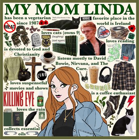 MY MOM LINDA
