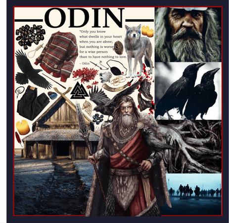 NORSE MYTHOLOGY: Odin