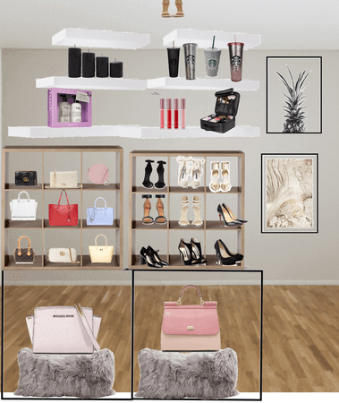 My dream shoe and bag closet