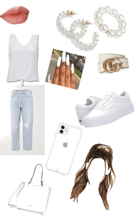 My white outfit