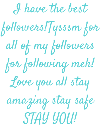 LOVE YOU ALL!