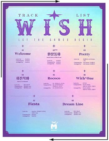MARIONETTE (마리오네트) Track List - Mini Anniversary Album | ❝𝐖 𝐈 𝐒 𝐇❞ - FESTA 2020