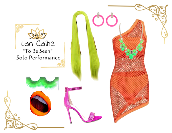 """Dei5 Lan Caihe """"To Be Seen"""" Solo Performance"""