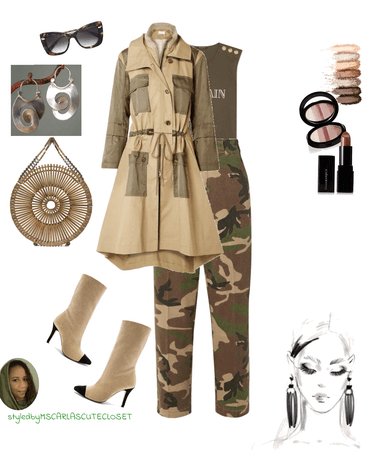 Just a trench coat
