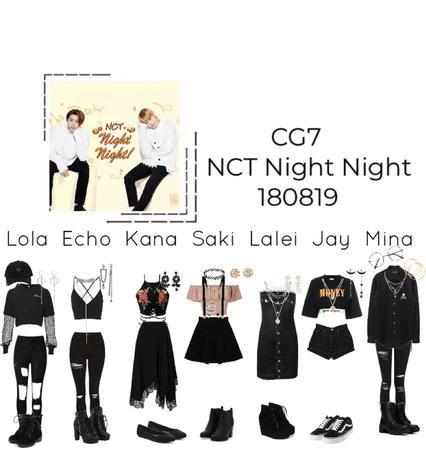 NCT night night- cyber Girls