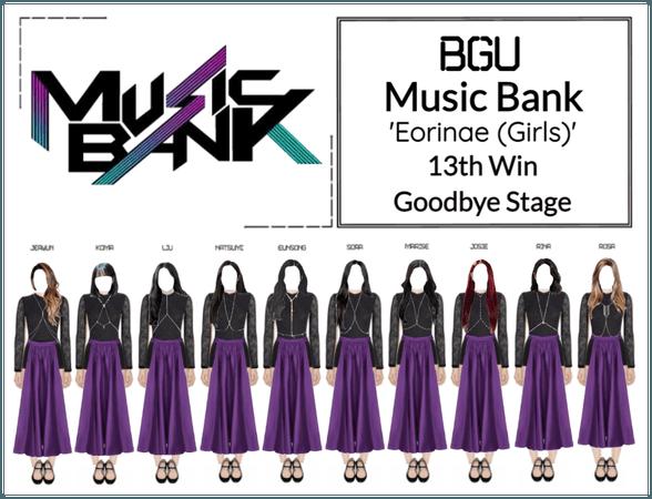BGU Music Bank 'Eorinae (Girls)' Goodbye Stage