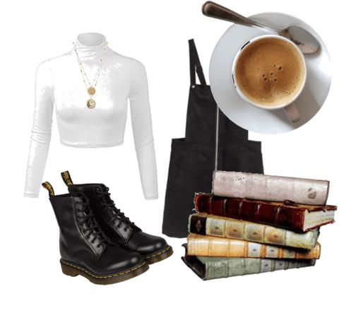 warm coffee, good books