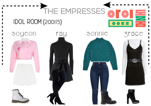 [THE EMPRESSES] ON IDOL ROOM