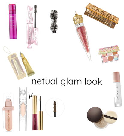 Netual glam look