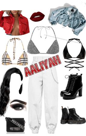 Aaliyah inspired 💋👑