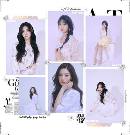 MARIONETTE (마리오네트) [MAKNAE LINE] PAPER Magazine Photoshoot