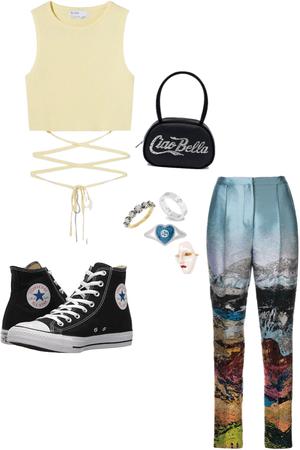 pov your art teacher has cool pants