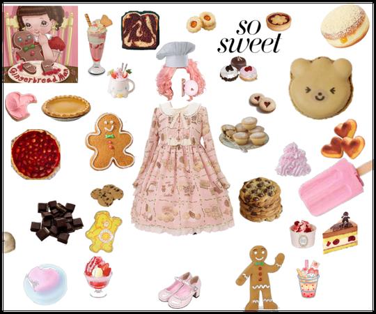 """ Gingerbread Man "" ~ Melanie Martinez"