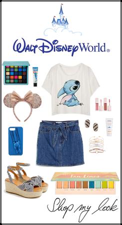 blue inspired DISNEY summer combo