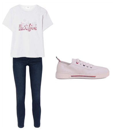 Julianna's shopping outfit