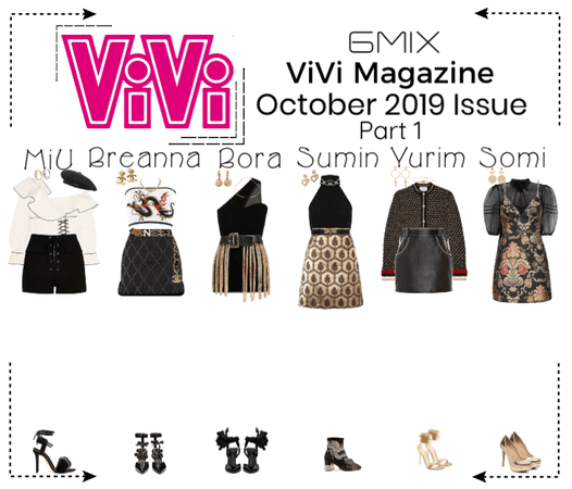 《6mix》ViVi Magazine Photoshoot (Part 1)