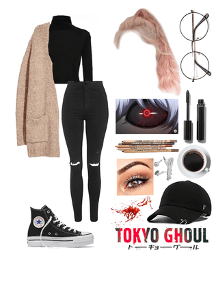what I'd wear in an anime: Tokyo Ghoul