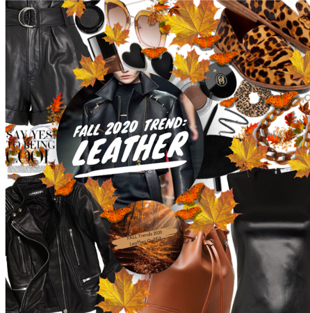 Leather For Fall trends 2020n