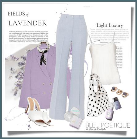 Light Luxury: Lavender & Powder Blue