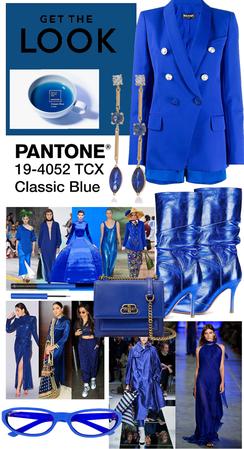PANTONE CLASSIC BLUE.