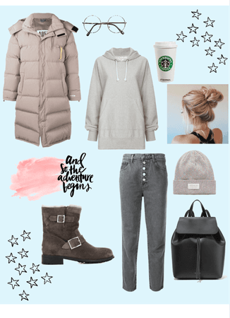 winter hygge outfit