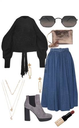Off shoulders and skirts