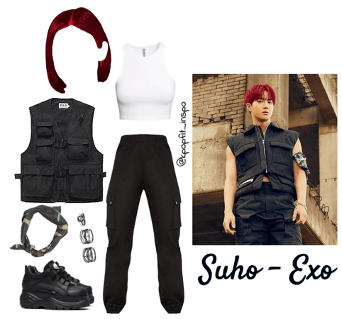 Suho Exo Obsession Inspired Outfit