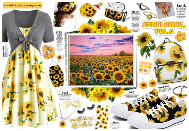 Sunflower Outfit 2