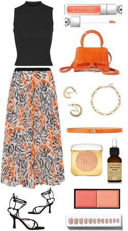 orange flower 🍊