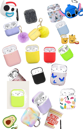 a lot of airpods