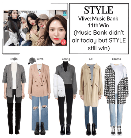 STYLE Vlive: Music Bank 11th Win