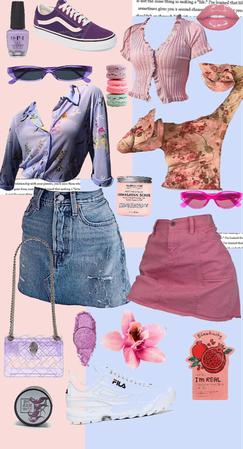 pink v purple