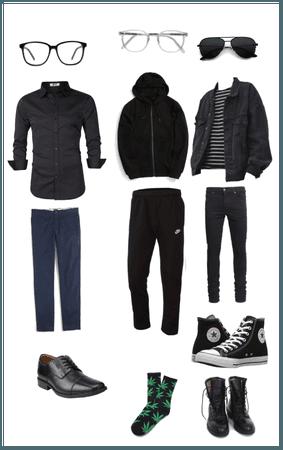 My oc Sams gang outfit yeet