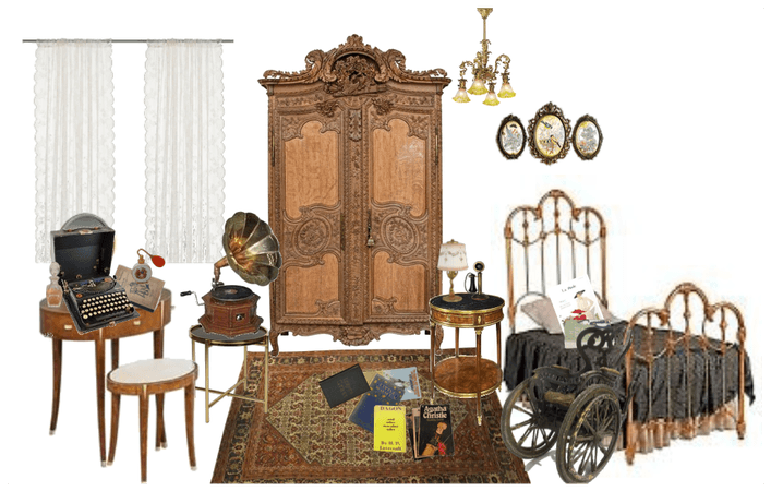 1920s bedroom (Aoife, AU)
