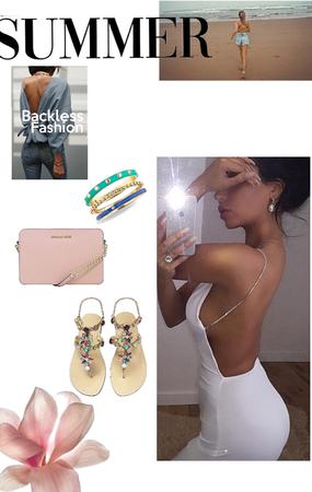 Summer beckless  Fashion