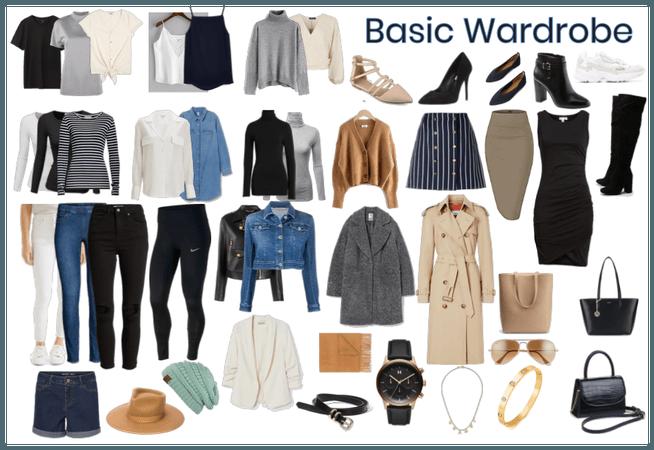 Basic wardrobe. capsule