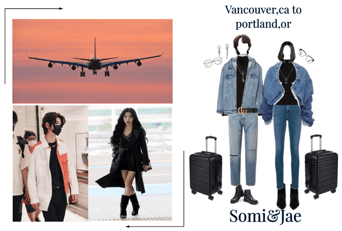 Somi&Jae Airport outfit-10/28/20
