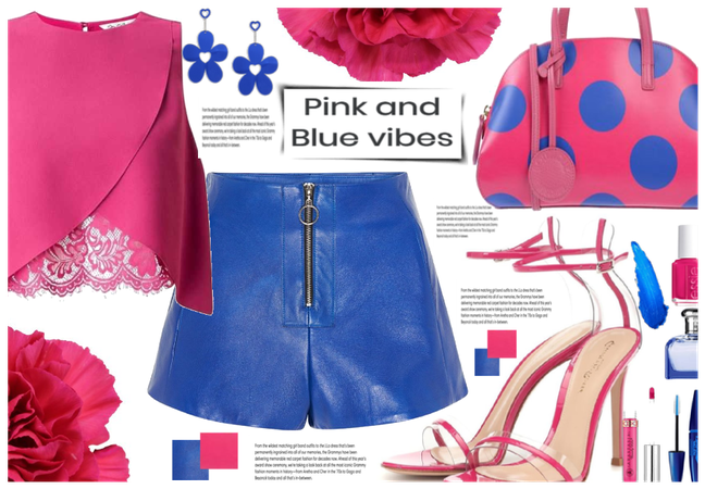 Pink and Blue Vibes