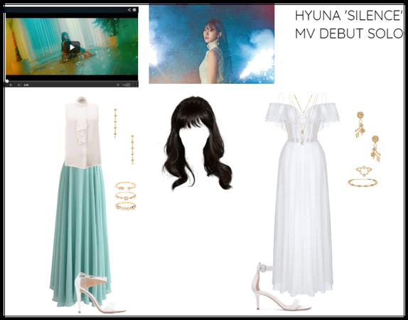 HYUNA 'SILENCE' MV DEBUT SOLO