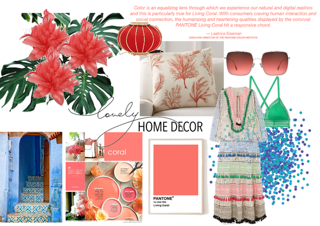 Pantone Color of the Year 2019 Coral