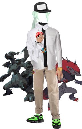Pokémon N moodboard