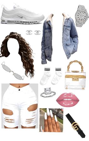 All white flight😍