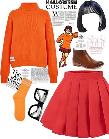 Velma-Halloween costume 🎃