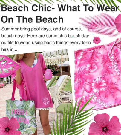 beach chic - new blog post