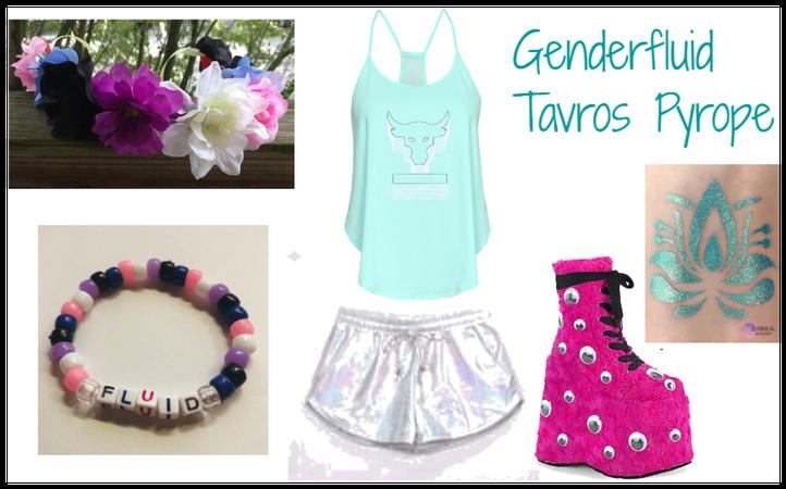 Genderfluid Tavros Pyrope