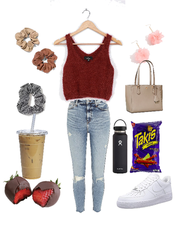 Scrunchie outfit