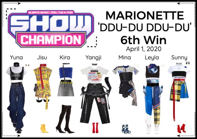 MARIONETTE (마리오네트) [SHOW CHAMPION] 'DDU-DU DDU-DU'