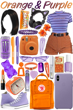 Purple & Orange