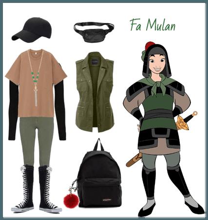 Mulan outfit - Disneybounding